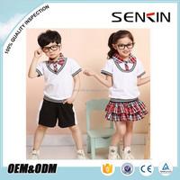 Custom-made design school uniform, children's primary school uniform bulk buy