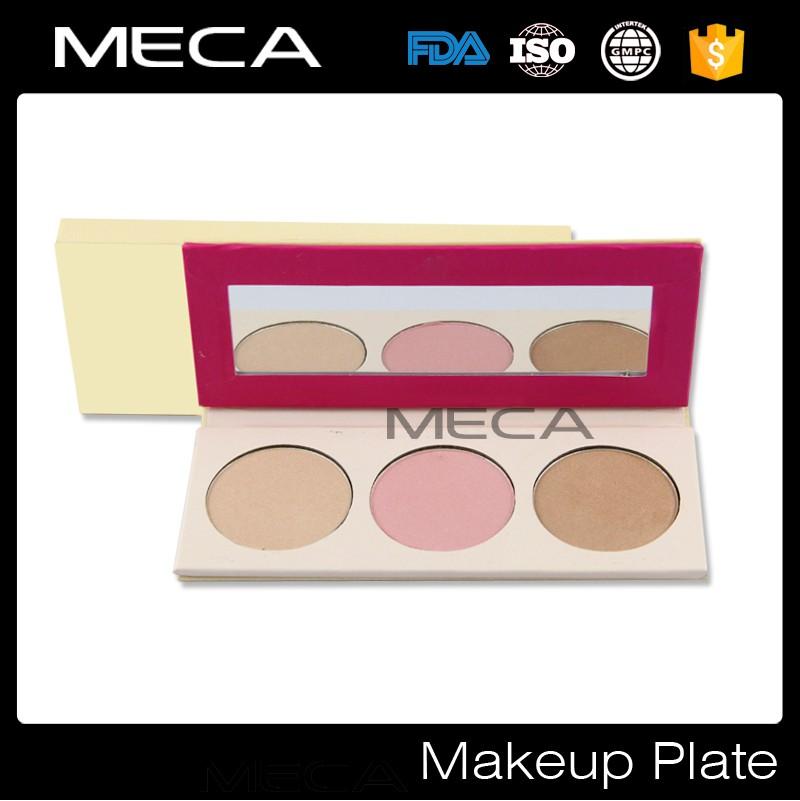 No Logo Face Makeup Palette Highlighter,Blush And Bronzer ...