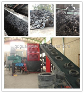 fully automatic rubber powder processing line /waste tire recycling plant