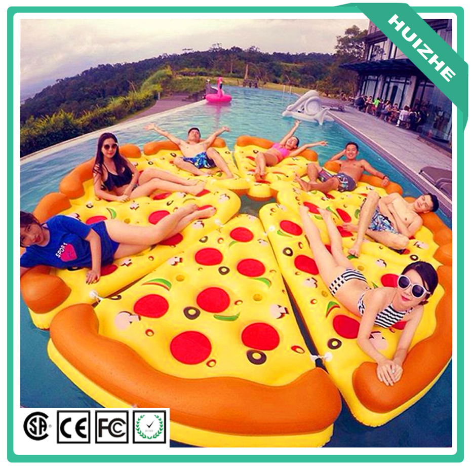 Wholesale Inflatable Pizza Float Swimming Pizza Pool Float Summer Pool Floaties For Adults