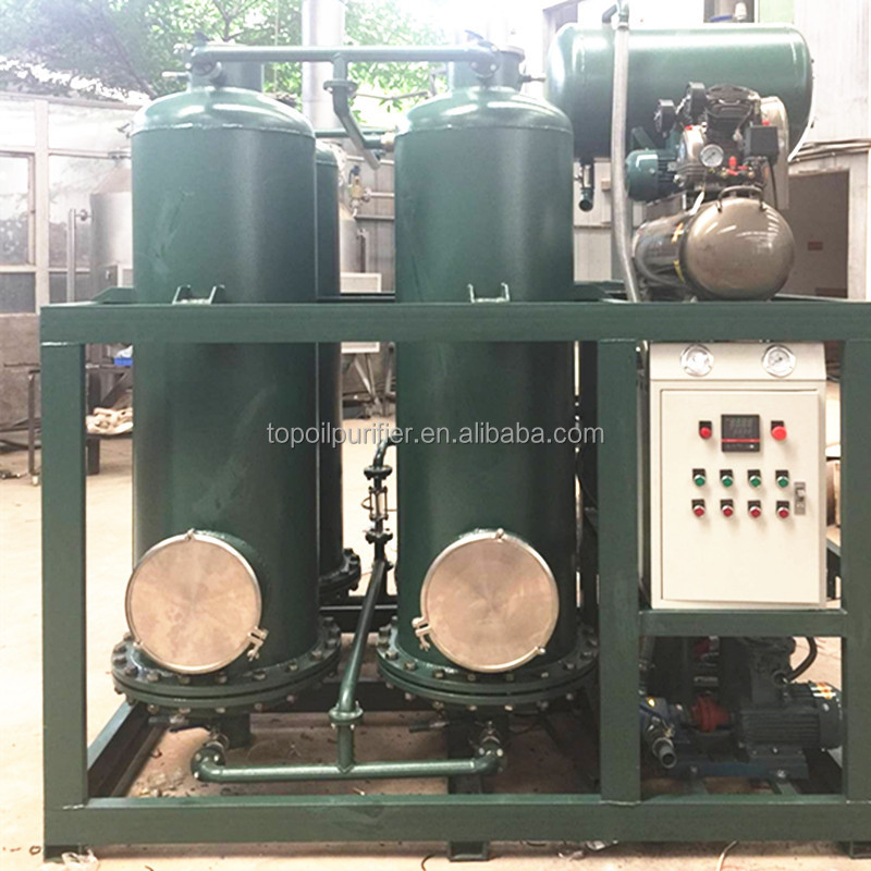 Tire Oil and Black Engine Oil Decoloring Machine for Decolorization