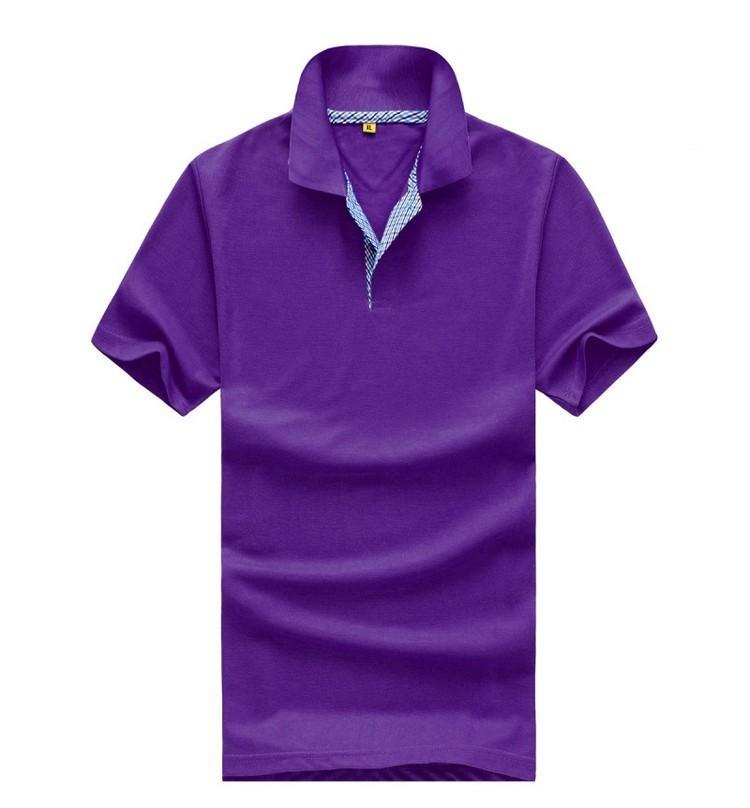 Roupas personalizadas fabrica atacado Polo camisas de golfe dois botões cor  lisa camisa pólo de golfe d788d9b4a177c