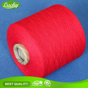 Thick carpet yarn for knitting carpet