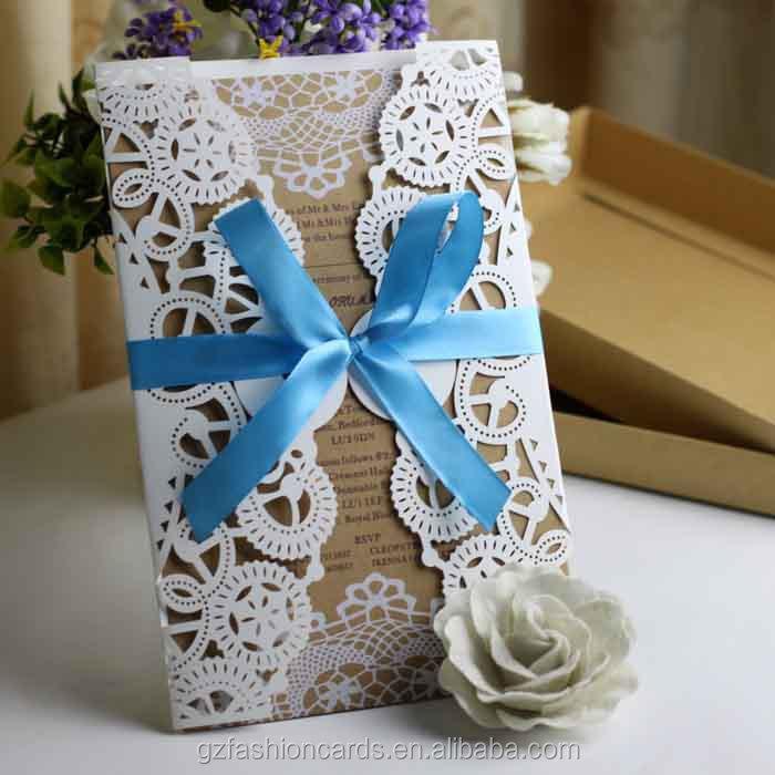 2014 New Luxury Laser Cut Wedding Invitations View Laser Cut – Invitation Cards Handmade