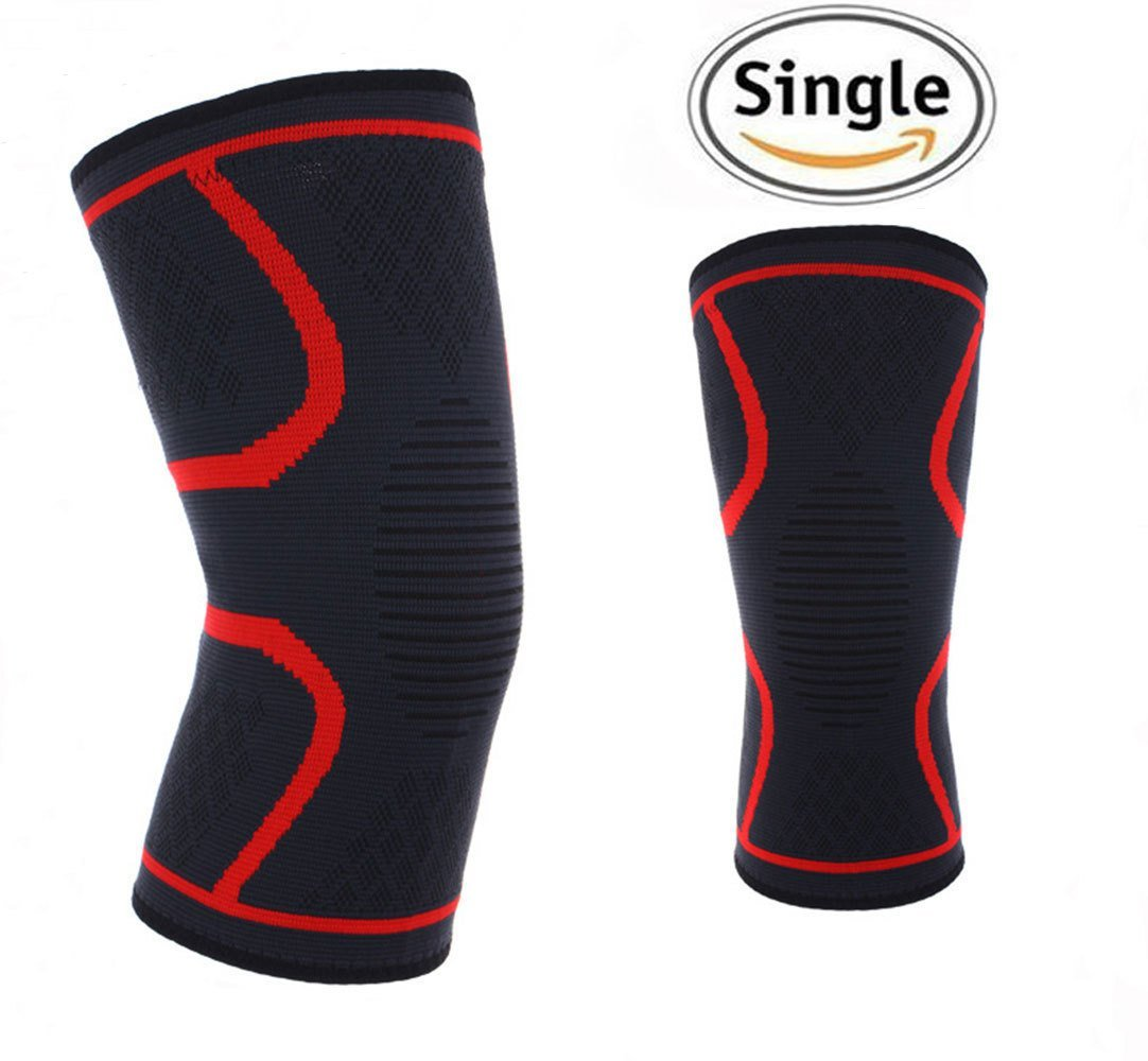 b11f3576cc65a4 Get Quotations · Wrestling Knee Pads Basketball, Running Sports Knee Pads  Knee Pads Youth Adults Long Sleeve Knee