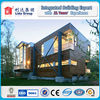 Prefab low rise steel structure building/light steel building house/villa for EPS Cement Sandwich panel