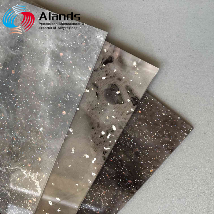 Good quality cast Acrylic sheet Plexiglass marble patterned plastic sheets