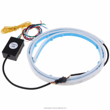 RGB Running Brake Reverse Turn Signal lamp LED Strip trunk Tail Light for Car Truck