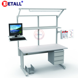 Factory Direct Sale Heavy Duty lab esd work bench for electronics science lab