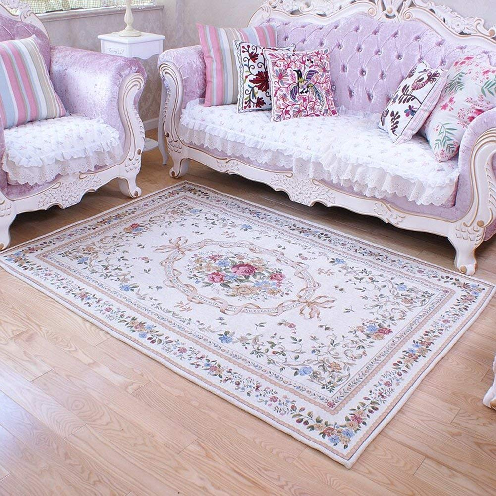 Ukeler Royal Collection New Traditional Oriental Rug Home Decor Collection Floral Rugs Carpet for Bedroom (55''x78.7'', Euro Romance)