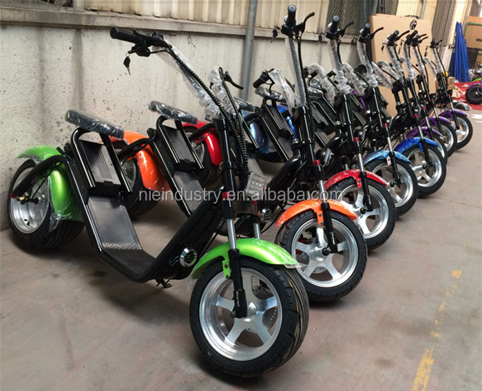 2017 the most fashionable citycoco 2 wheel electric scooter, adult electric motorcycle