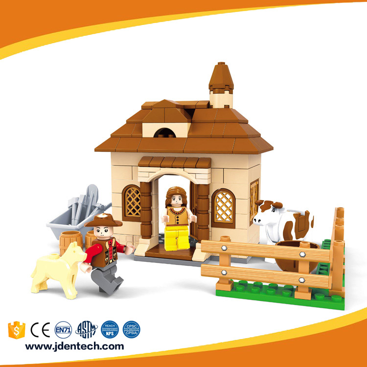 AUSINI babys first basic building benefits play plastic toy brick