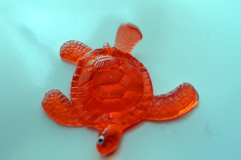 TPR sticky sea animals toys