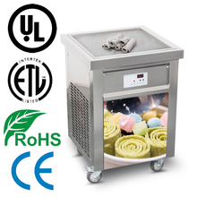 High quality Fried ice cream machine, can make Roll fry ice cream