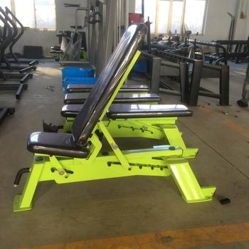 Adjustable bench press weightlifting gym wholesale Italian sports equipment company