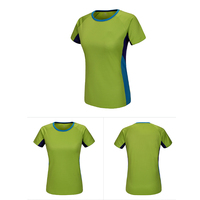 2017 Summer Women Latest Designs Patern Cowboys Jersey Spandex Lady Blank T Shirts