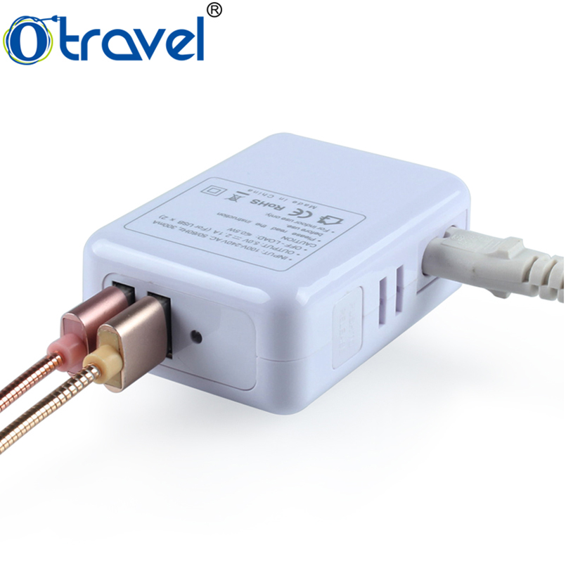 universal portable cell phone charger dual travel accessory kits world travel mobile charger kit