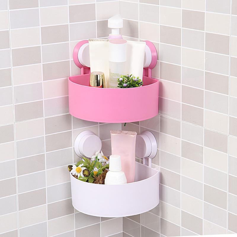 bathroom corner shelves with suction cups. Black Bedroom Furniture Sets. Home Design Ideas