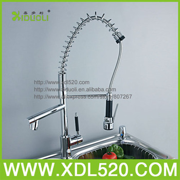Pull Out Water Ridge Sink Kitchen Faucet