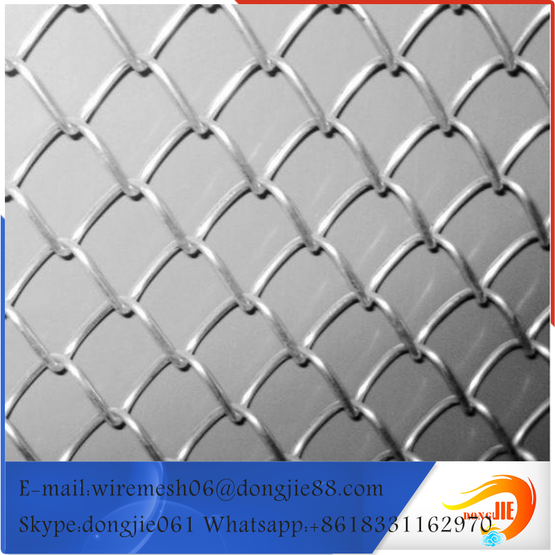 fine pure galvanized chain link metal mesh
