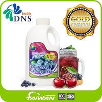 DNS BestLife blue raspberry blueberry juice concentrate flavour