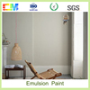 High quality white paint interior latex emulsion interior wall paint colors for bedroom