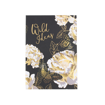 2019 custom journal foiled paper note book A5 diary hardback notebook