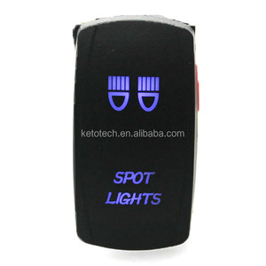 Waterproof 12V 24V On OFF Car Auto Marine Boat Carling LED Rocker Switch