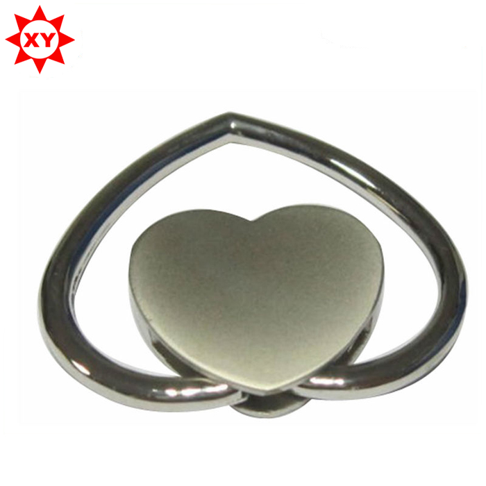 Personalized heart shape metal keychain of souvenir gift for wedding