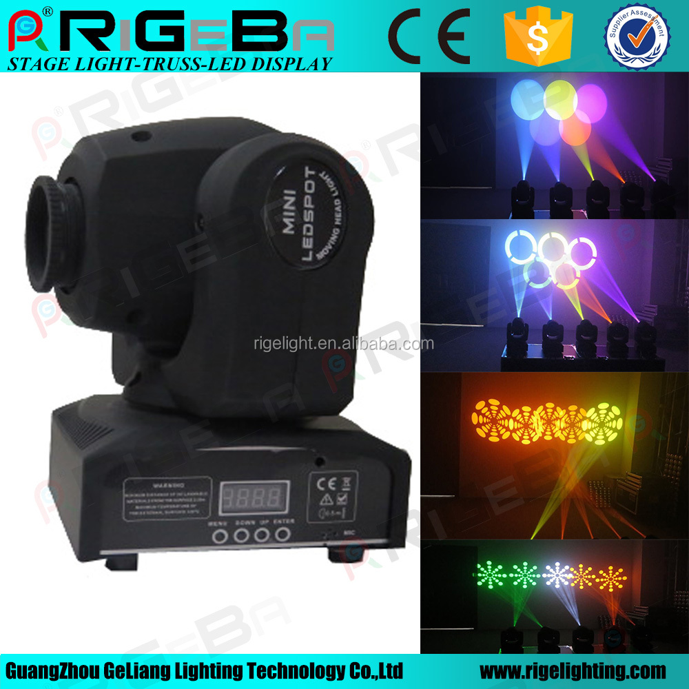 Best selling DMX-512 30w mini led beam moving head light