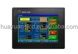 Resolution 800x480 IP53 600cd/m2 65K color 7 inch lcd panel china cheap hmi