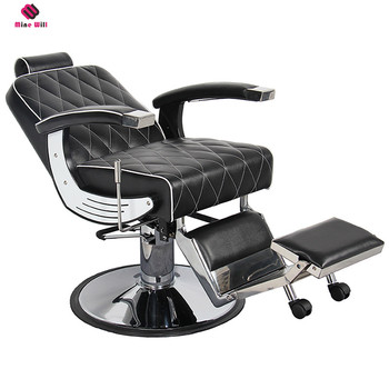 Custom Printed Professional Hrydraulic Pump hair salon chairs for sale