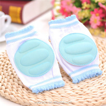 Hot Sale Color Knitted Cotton Children Sponge Baby Crawling Knee Pad