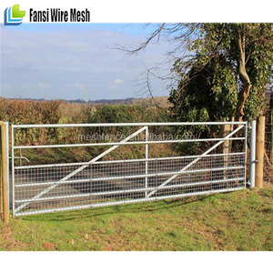 Farm Gate 25NB Galvanize Pipe Frame & vertical brace 20NB N stay
