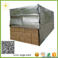 insulating quilts & radiant barrier container liners