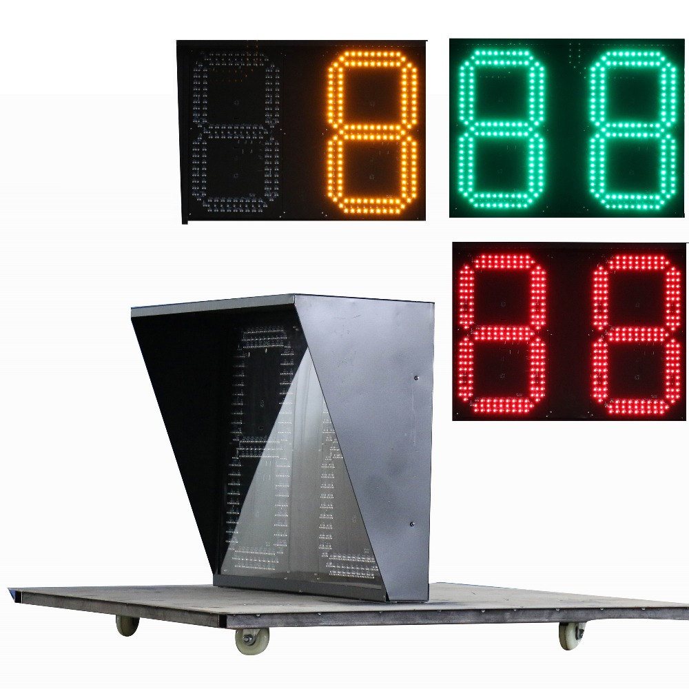 Fashion design made to order 2 digits countdown display best quality led light countdown timer