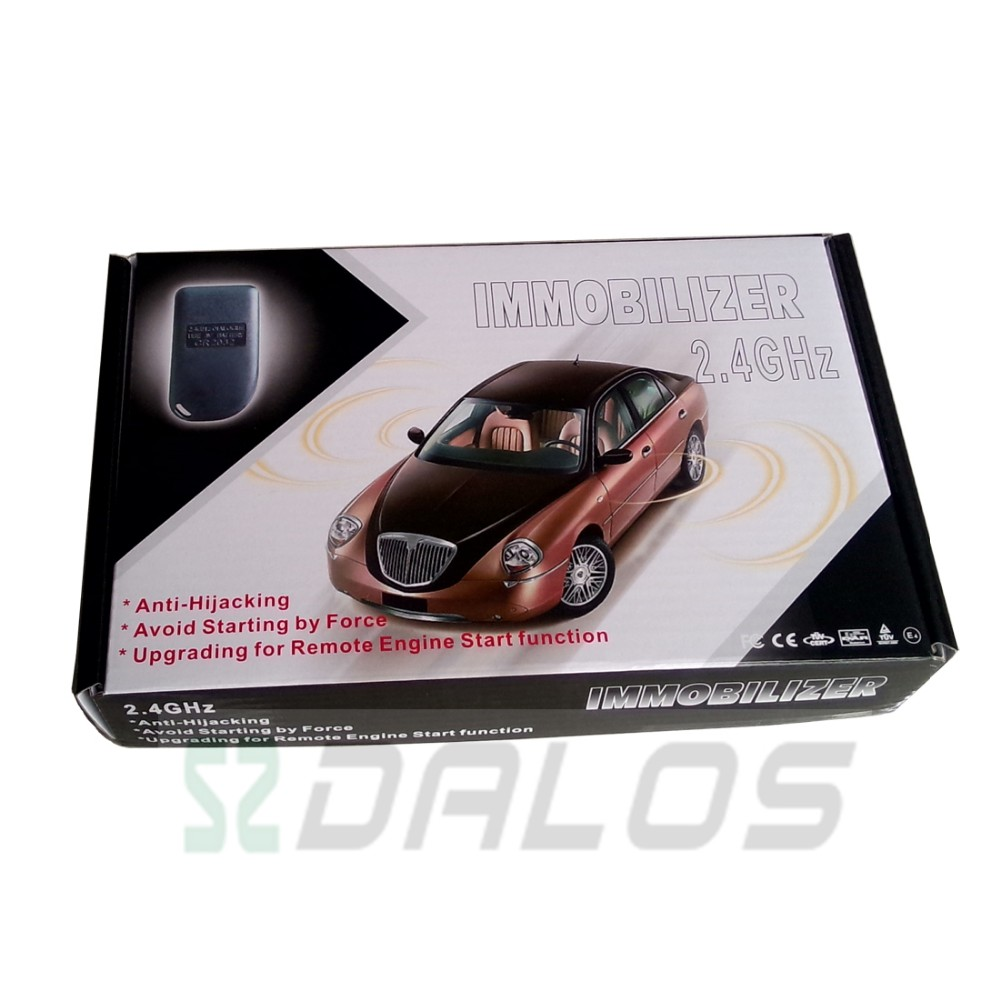 Anti-jacking 2.4ghz RFID immobilizer automobile inmovilizador rfid de coche
