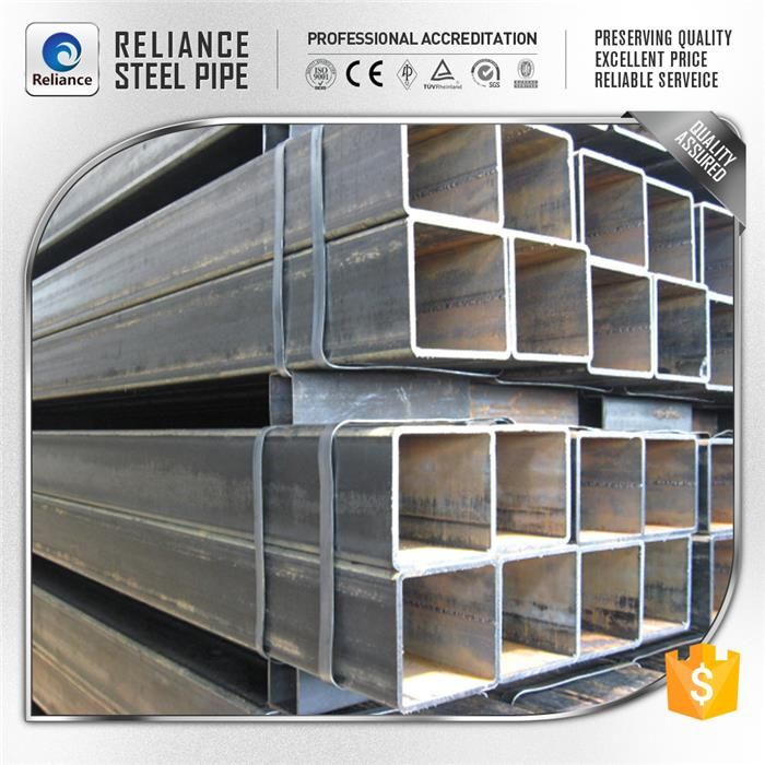 st52 square steel pipe square tubing standard sizes