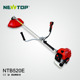 Grass trimmer gasoline 52cc brush cutter price with metal blade