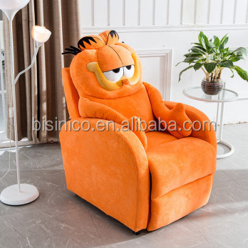 Bisini Doraemon Cat Shape Living Room Sofa Chair