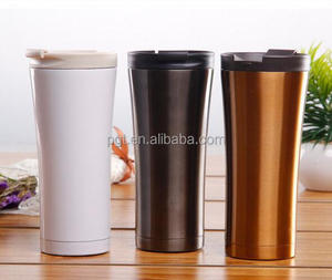 New promotion manufacturer double wall stainless steel termos custom travel mug thermo coffee cups car mug
