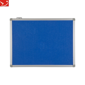 GBB-005 120*90CM white framed office bulletin boards Fire retardant notice board samples