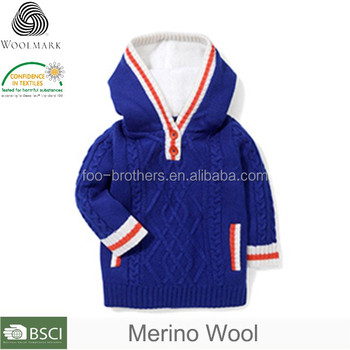 42df67f3d549 Fashion V-neck White Plain Boys Sweater Design