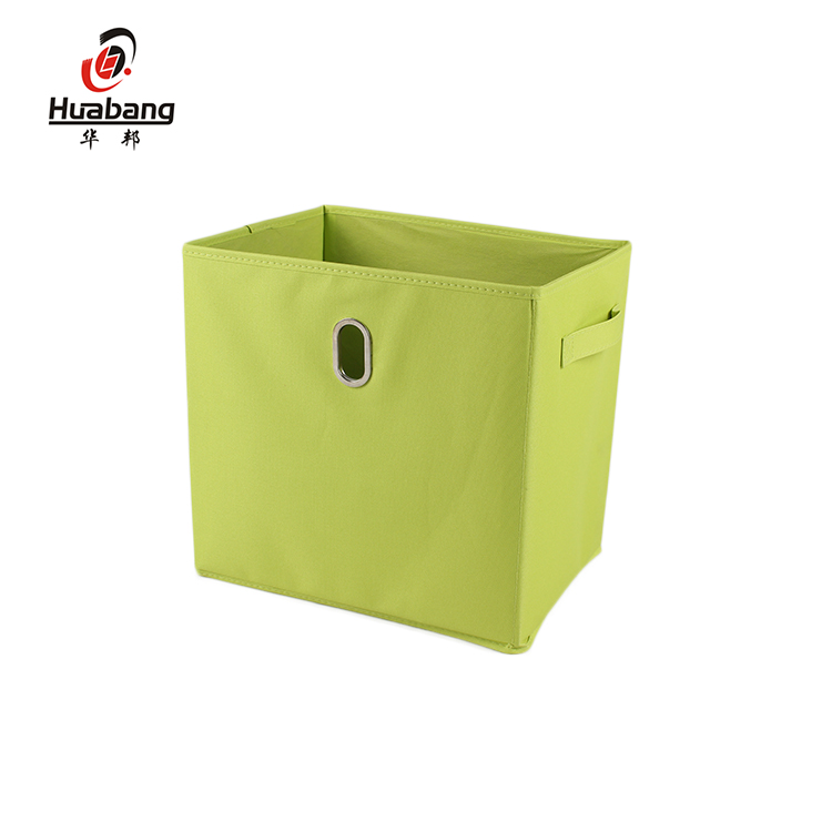 Guaranteed Quality Reusable Fabric Home Foldable Storage Boxes With Dual Handles