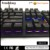 Mechanical Keyboard Gaming Keyboard with Blue Switch Wired 6 Colors Led Backlit Keyboard Full Size 108 Keys US Layout