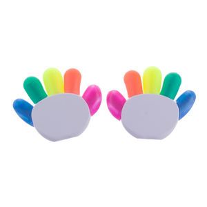 Alibaba China Supplier Hand Finger Shape Cute Highlighter