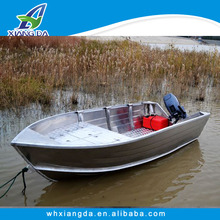 Aluminum hull boat with yamaha boat engines