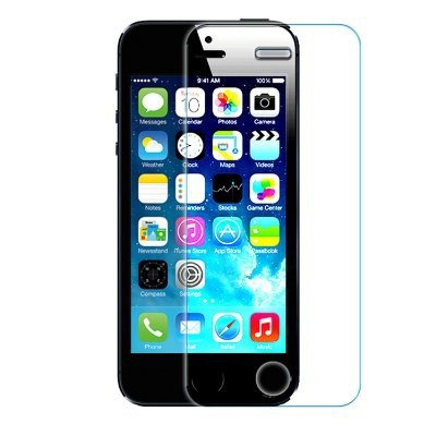 High Quality 2.5D thin 0.33 mm Tempered Glass Film Guard Screen Protector, HD Clear Screen Protector For iphone 5/iphone 5s