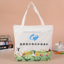 The newest design cheap promotional tote bag with custom logo cotton