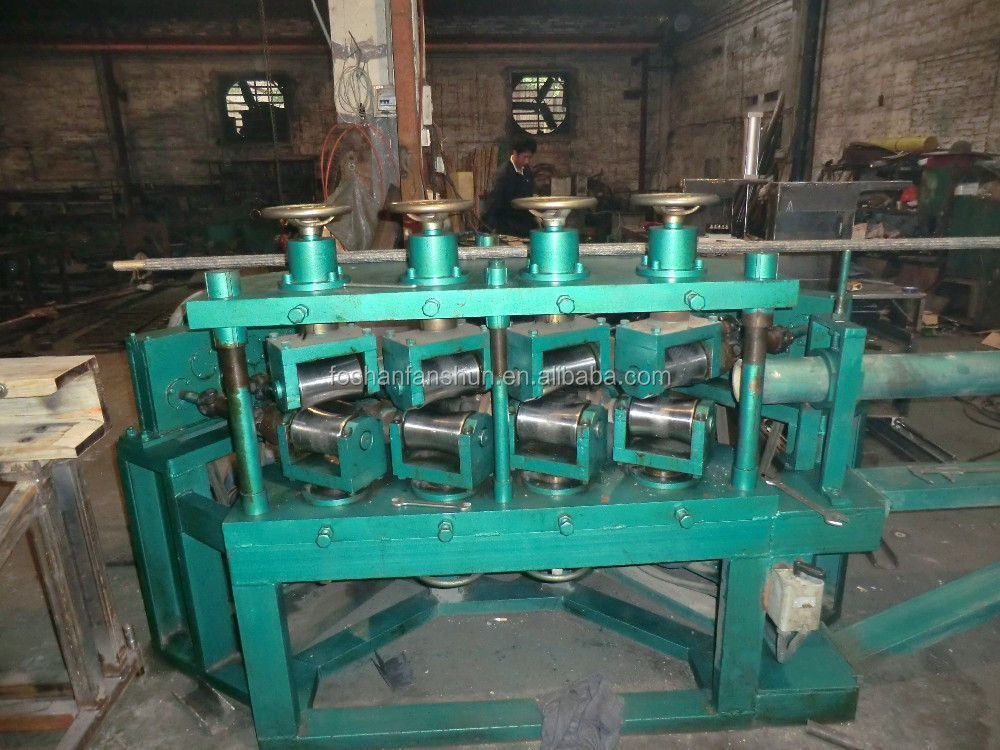 automatic tube straightening machine high speed for brass pipe without scars